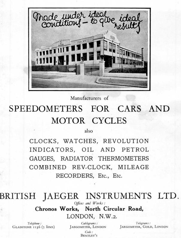 Jaeger Car Clock Repair