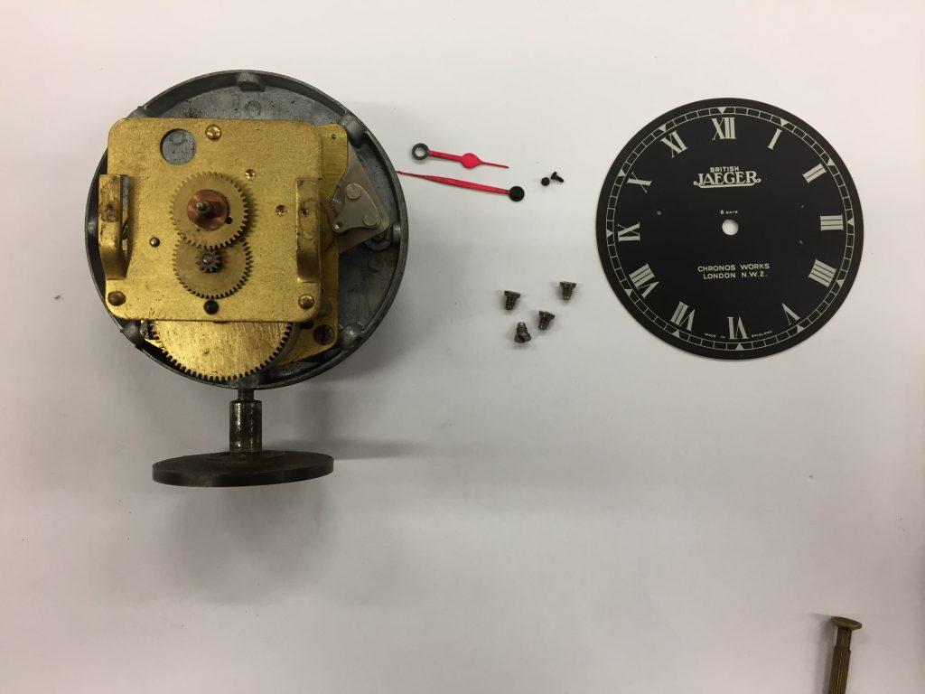Jaeger Cockpit Clock for Classic Car, Repair & Service