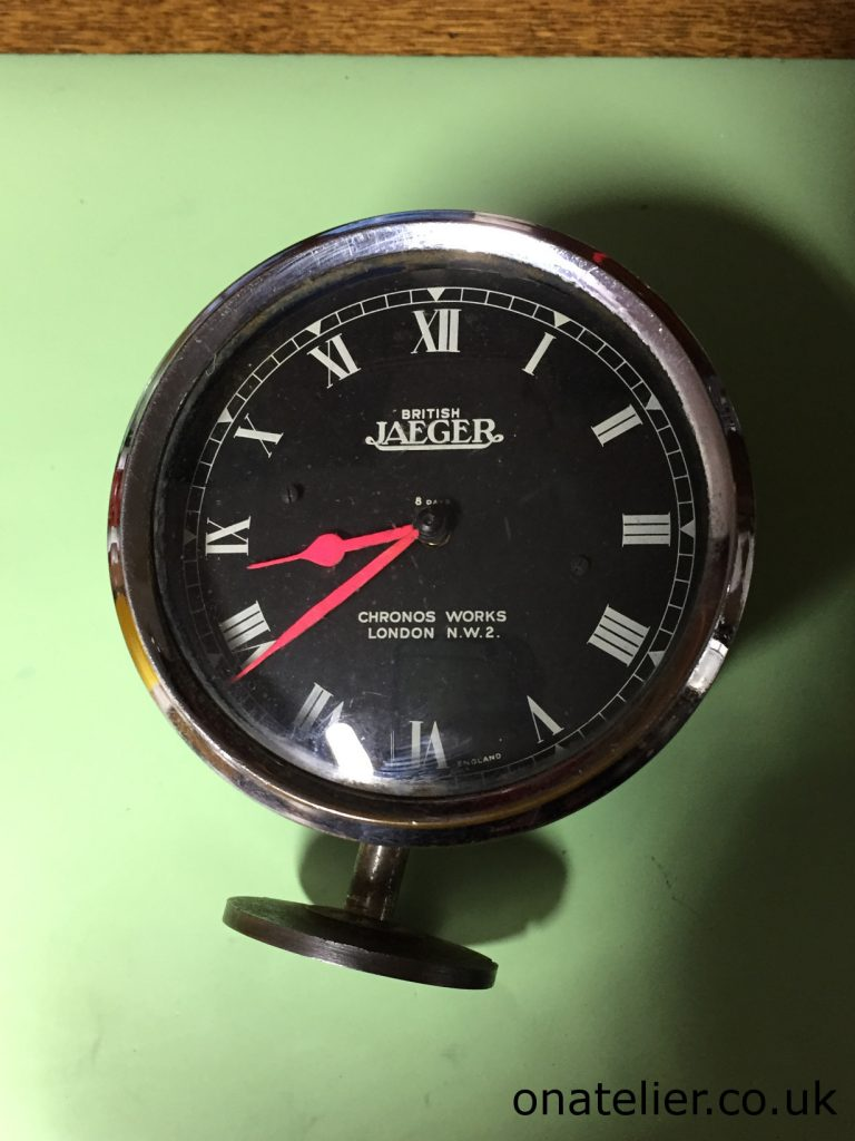 Jaeger Cockpit Clock Repair Service
