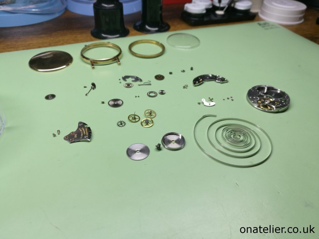 Longines-Calibre-284-Service-Movement-Disassembled