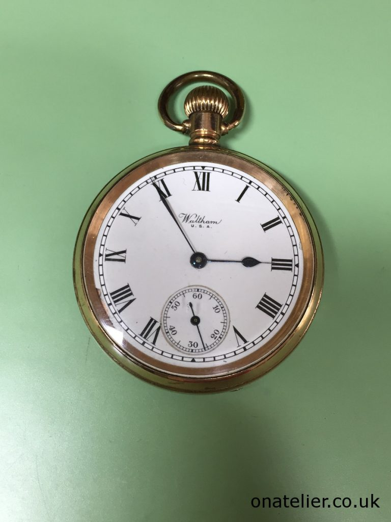 WALTHAM Pocket Watch Service Repair