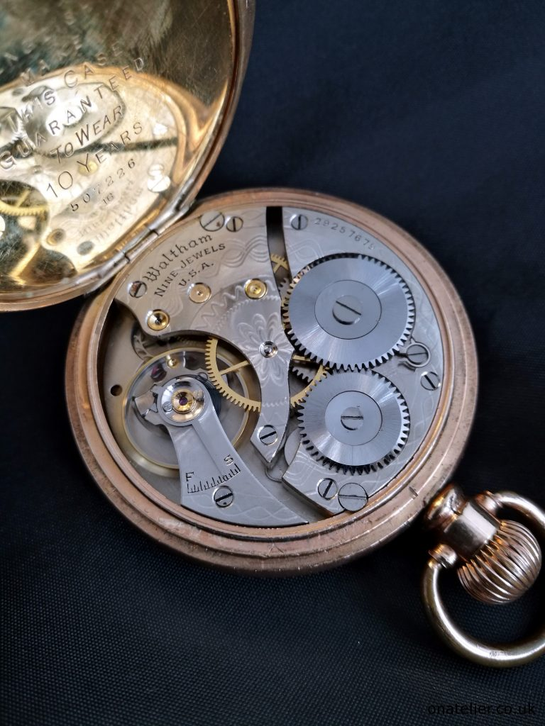 WALTHAM-Pocket-Watch-Serviced