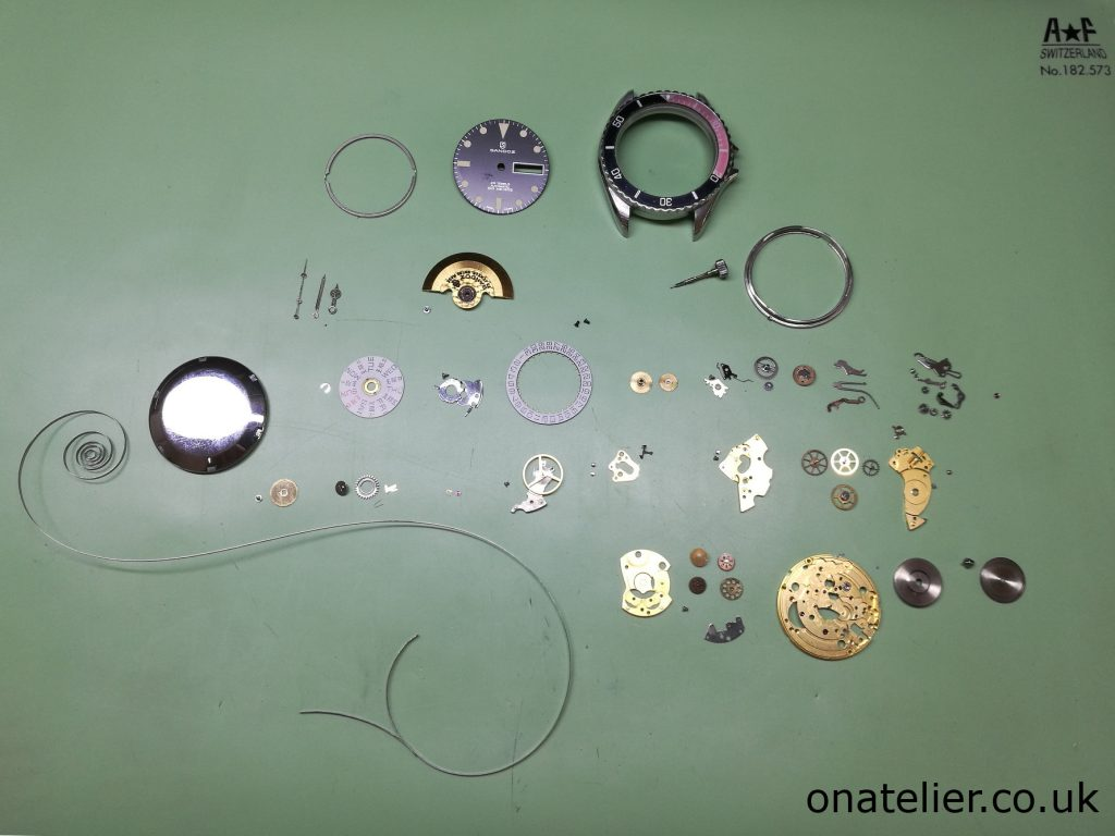 ETA 2836-2 Disassembled