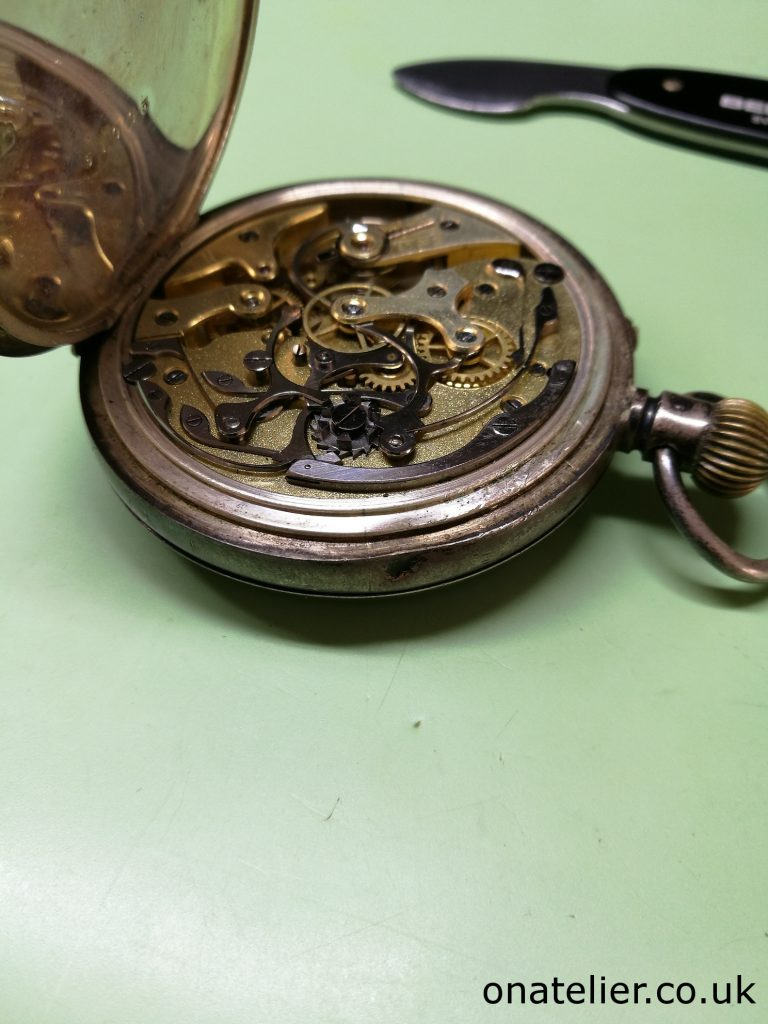 Pocket Watch Chronograph