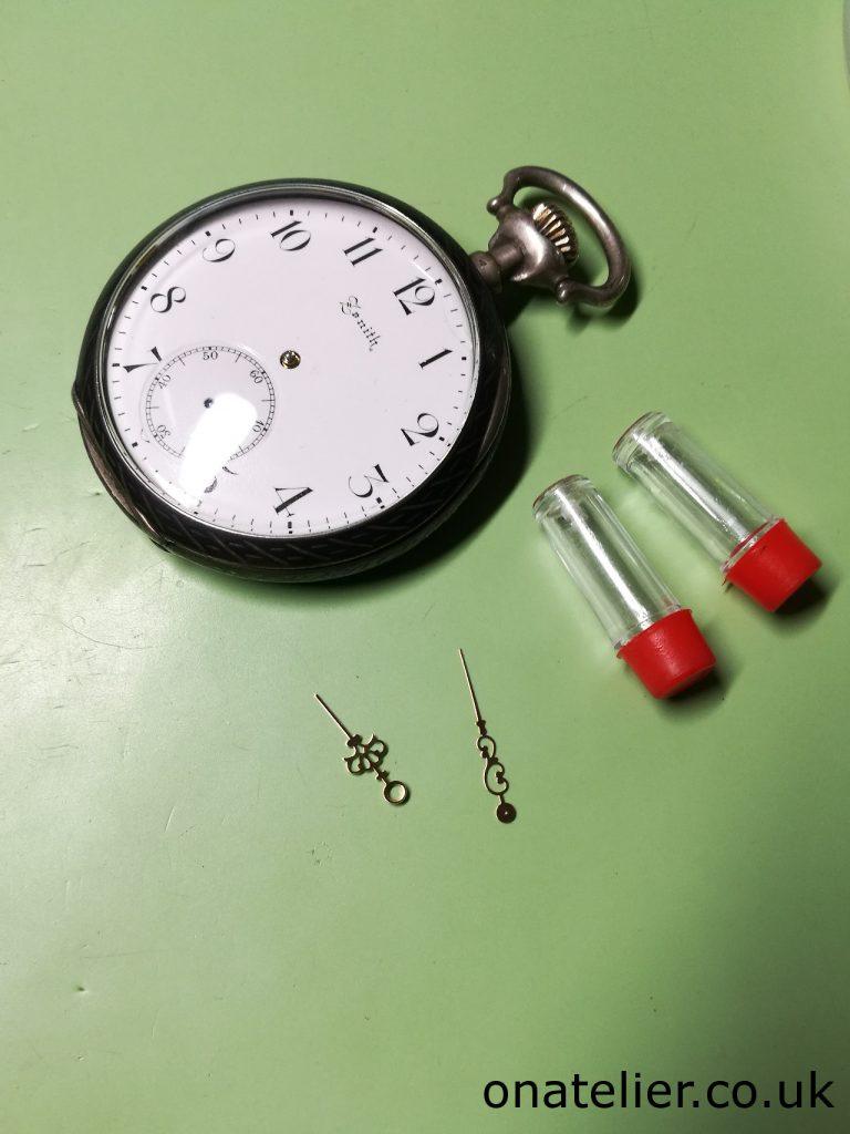 Replacement Hands Pocket Watch
