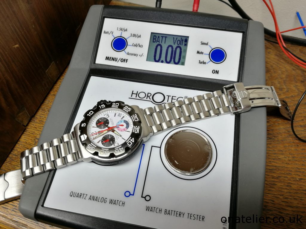 Tag Heuer Quartz Test