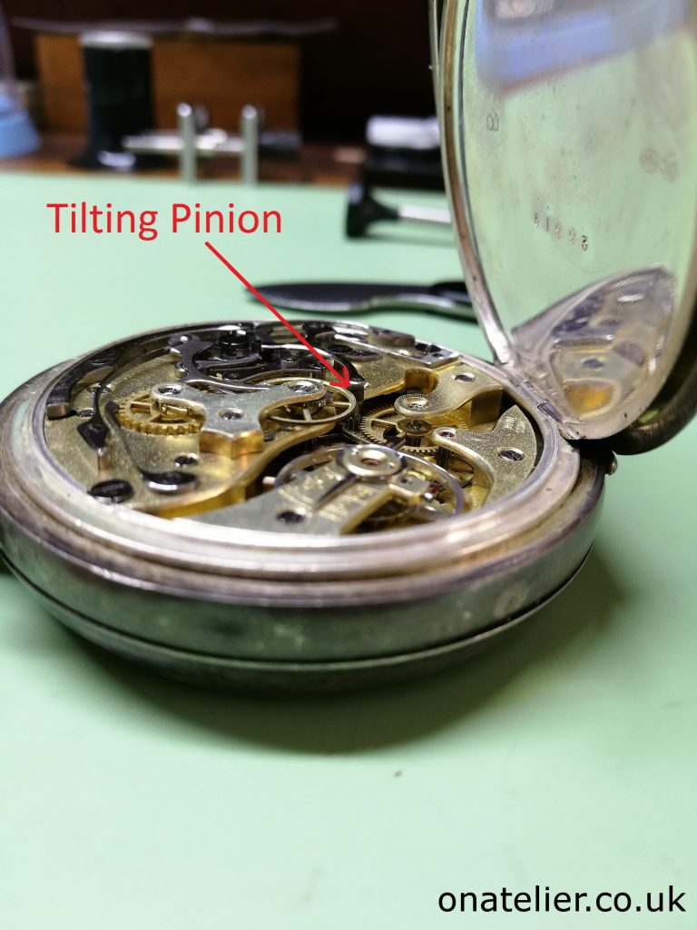 Tilting Pinion