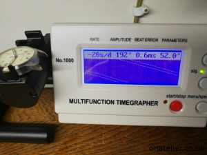 Timegrapher-before-service