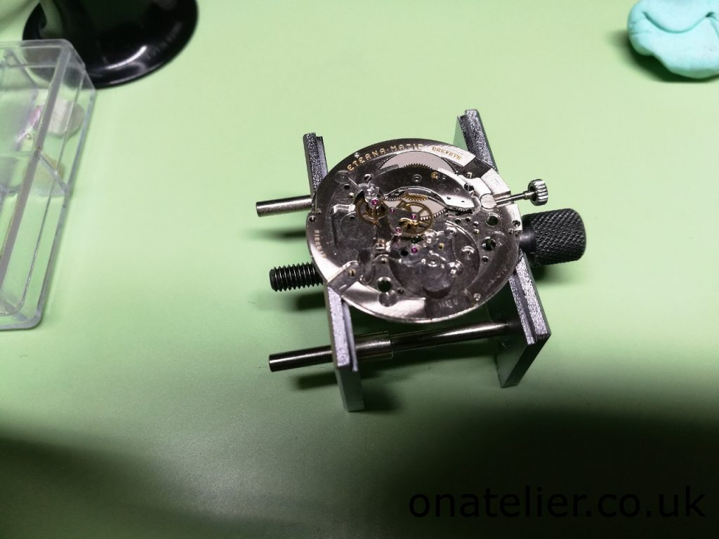Calibre 1457U re-assembled