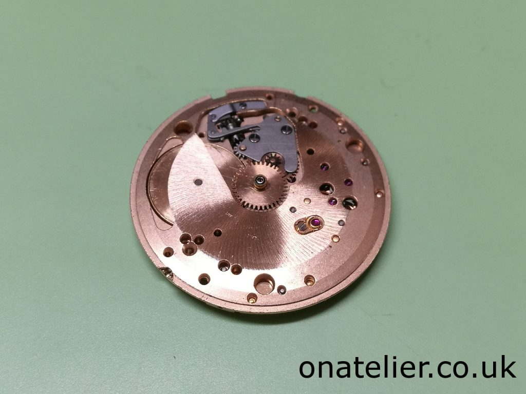 Calibre 601 Dial Side
