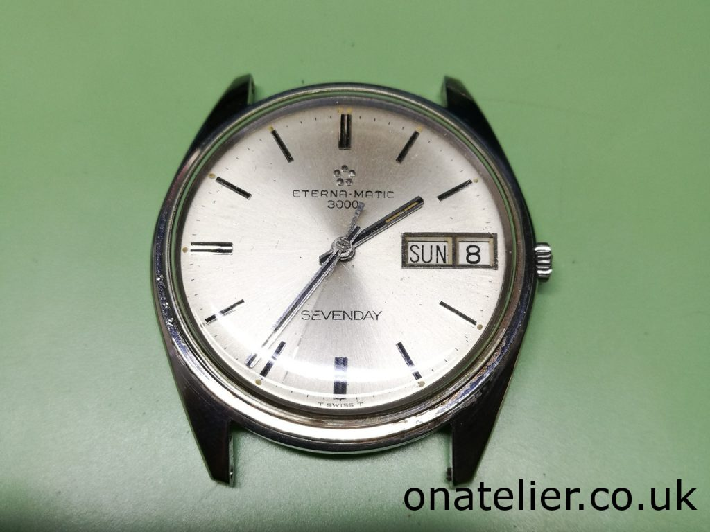 Eterna Matic 3000 Sevenday Service