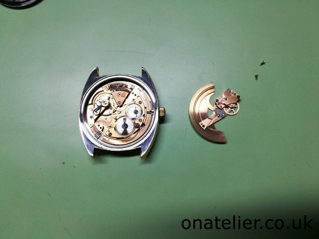 Omega Calibre 561 Automatic Works