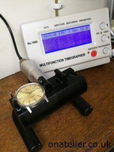 Omega Timegrapher Reading