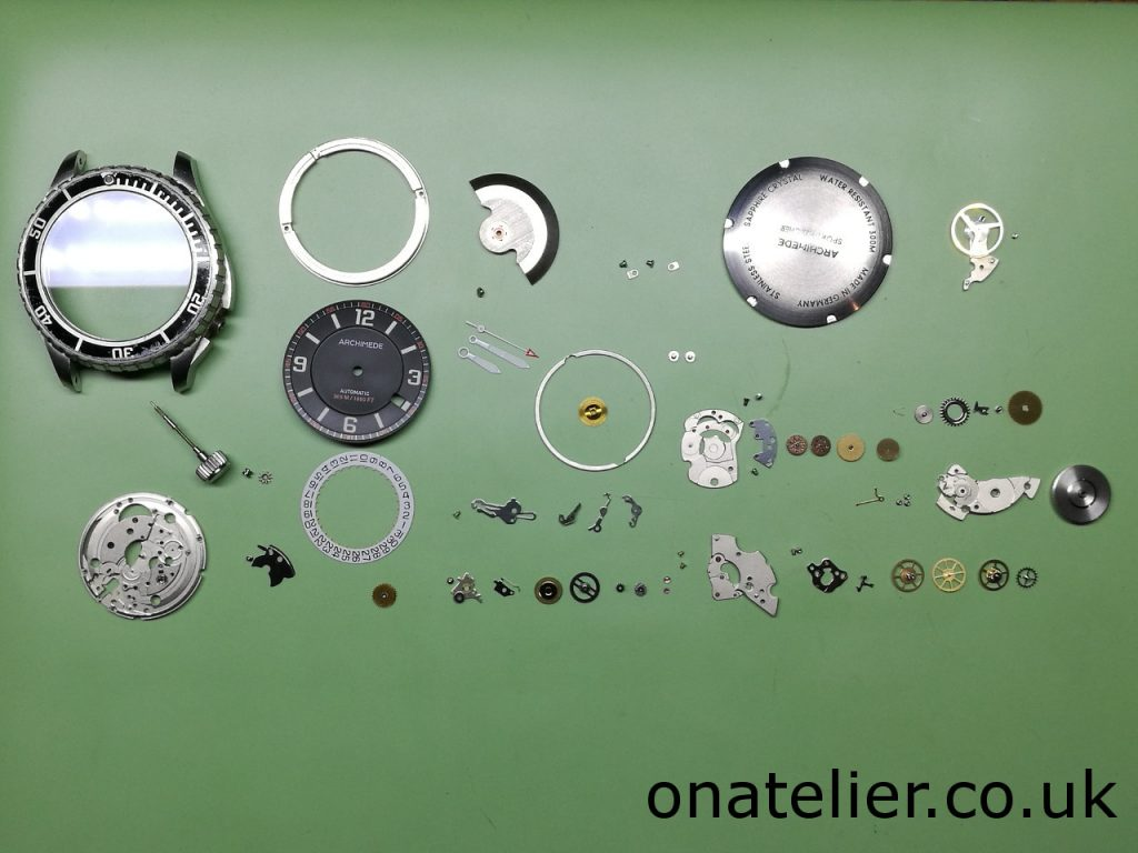Archimede ETA 2824-2 Disassemble