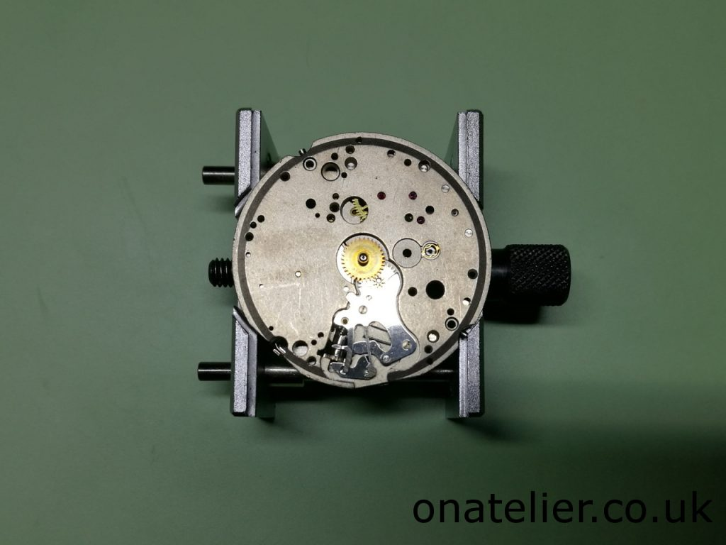 Valjoux 7733 Dial Side