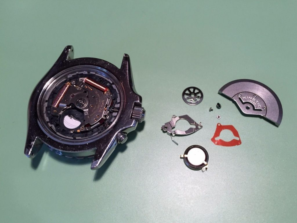 seiko-kinetic-capacitor-replacement-service
