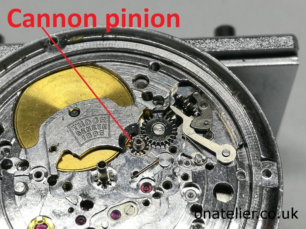 AS 1895 Cannon pinion