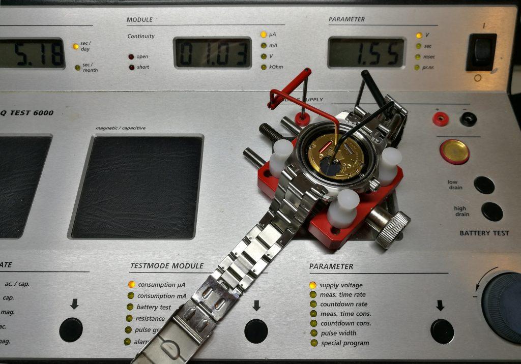 UK Watch UK Watch Battery replacement service