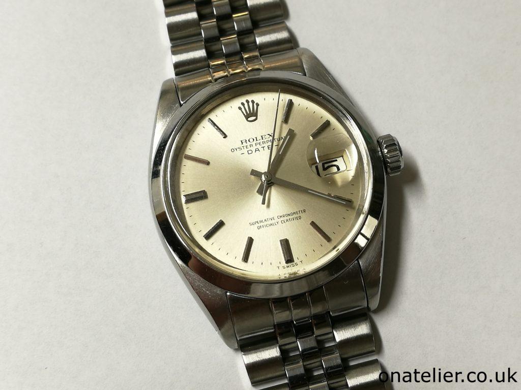Rolex 1500 Service