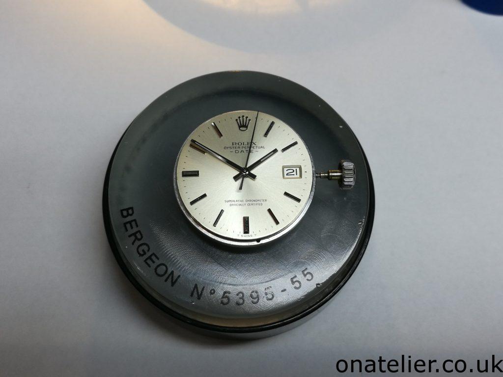 Rolex-Oyster Perpetual Date Service