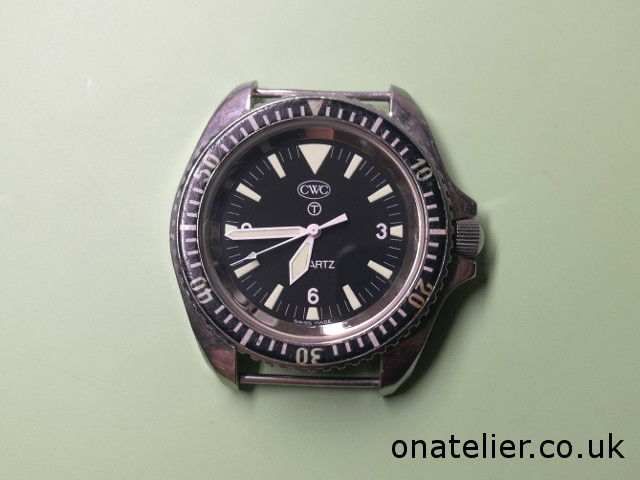 CWC 1983 diver serviced