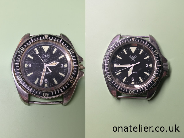CWC Divers before after