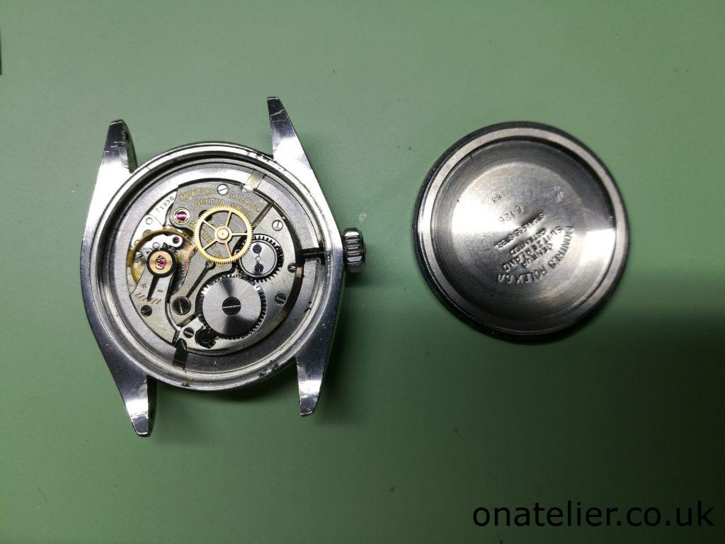 Rolex Calibre 1215 Service